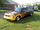 1998 GMC Sonoma s10 prostreet pro hot rod race drag ranger tubbed back halfed