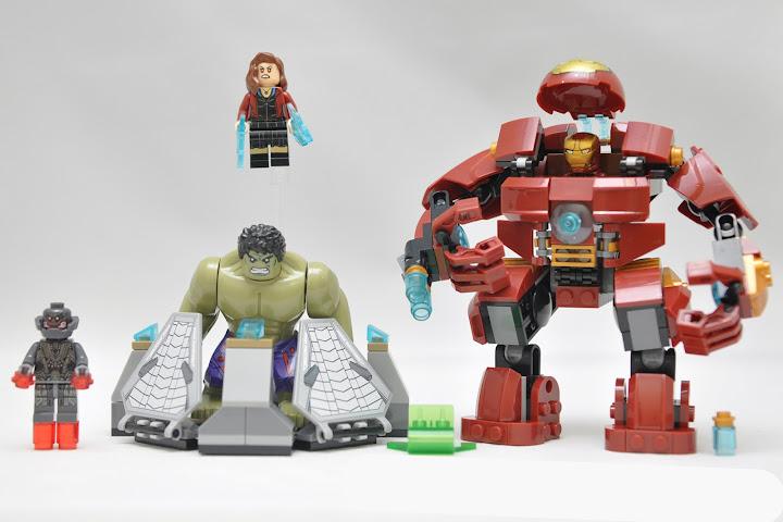 Lego Instructions Mini Super Heroes