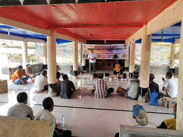 BKSDA Aceh Sosialisasi Tumbuhan dan Satwa Liar Dilindungi di Bandar Baru