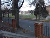 Front entrance to church along Gregson looking toward DSA