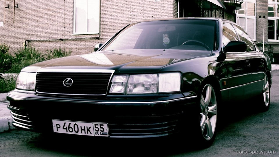 1994 lexus ls 400 sedan specifications pictures prices. Black Bedroom Furniture Sets. Home Design Ideas