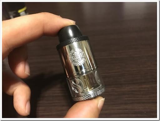 IMG 3099 thumb - 【味出ます】AUGVAPE MerlinRDTAの紹介レビュー!なにこれ怖いってレベルの爆煙!そりゃ0.2Ωで組んだら大変なことになるよね~の巻【ミスト超出ます/VAPE/RDTA/電子タバコ】