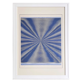 Jim Bray Signed Op Art Screenprint