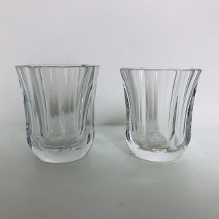 Baccarat Harmonie Shot Glass Pair