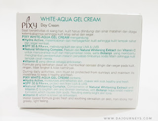 [Review] PIXY Aqua White Series - Day Cream