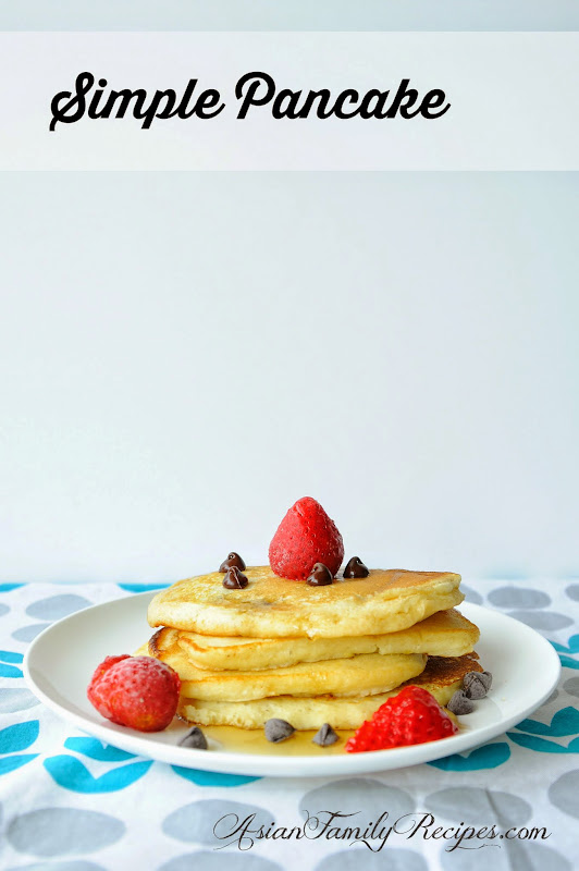 Asian Family Recipes: Simple Pancake
