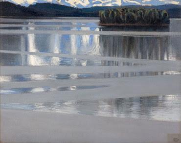 Lake Keitele - Akseli Gallen-Kallela