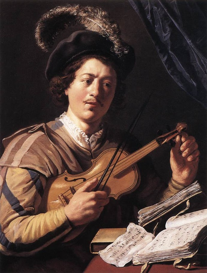 Jan Lievens - The Violin Player