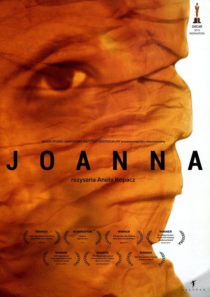 Ulotka filmu 'Joanna (przód)'