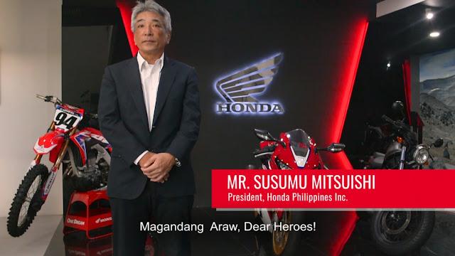 Philippine Red Cross Recognizes Honda Philippines Inc. for Humanitarian Service