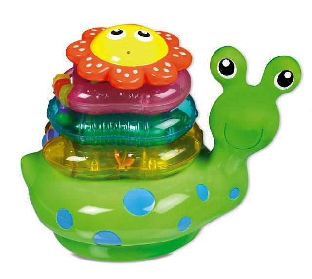 Đồ chơi Con sên xếp chồng Snail Stacker Munchkin
