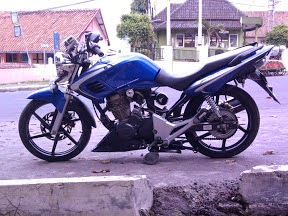 Honda Tiger 2000 Modifikasi Ceper