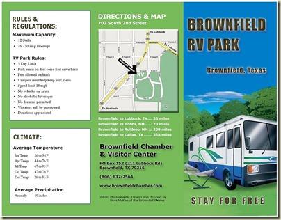 Coleman RV Park Brownfield TX