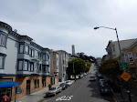 Coit Tower in the distance