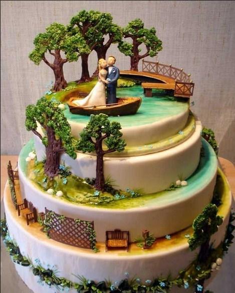 the best wedding cake design screenshot