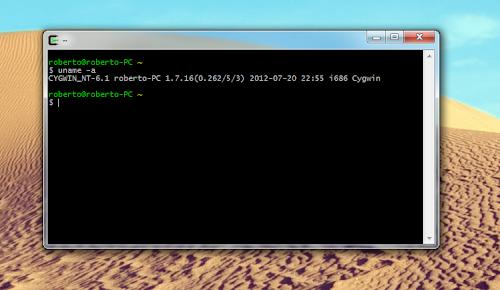 Cygwin - shell di Linux su Windows