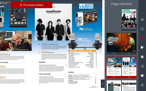 Professional audio Magazin- screenshot thumbnail