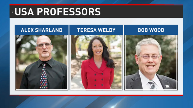 3 university professors placed on leave after photos surface of them at campus event wearing and holding racist symbols