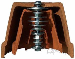 Главный «секрет» изобретения — радиатор Quad-Core, ловушка для тепла (фото с сайта heatstick.com)