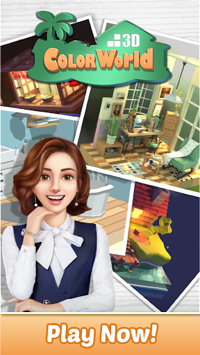 Color World 3D - Paint By Number screenshots 11