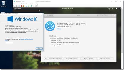 Elementary OS 0.4 Loki (Build on Ubuntu 16.04 LTS)