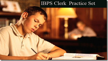 IBPS Clerk Preliminary Question paper PDF Set 10