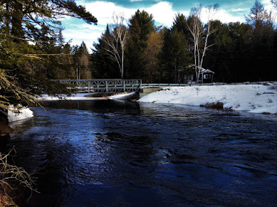 McCutcheon Bridge Black River. Facing North. Vankoughnet, ON   photo by Chris Varga