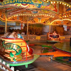 Waltzers by Craig Payne - City,  Street & Park  Amusement Parks ( lights, dingles, fairground, victorian, waltzers )
