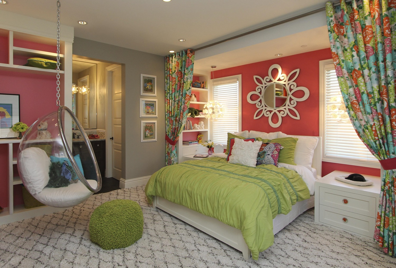 IDEAS DECORATION BEDROOM  FOR GIRL IN 2018 9