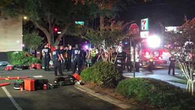 Islamic extremist shoots dead more than 20 at Florida gay club injuring 42