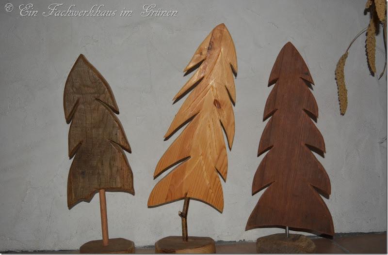 Fichten aus Holz