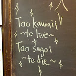 too kawaii to live, too sugoi to die in Scarborough, Ontario, Canada