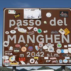 Motorrad Pass Manghenpass Passo Manghen