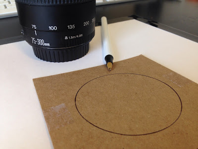 trace camera lens circumference