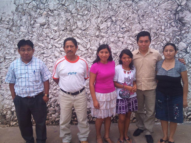 The Action Group from Yaxcabá. They'll be planting a church in Santa Maria.