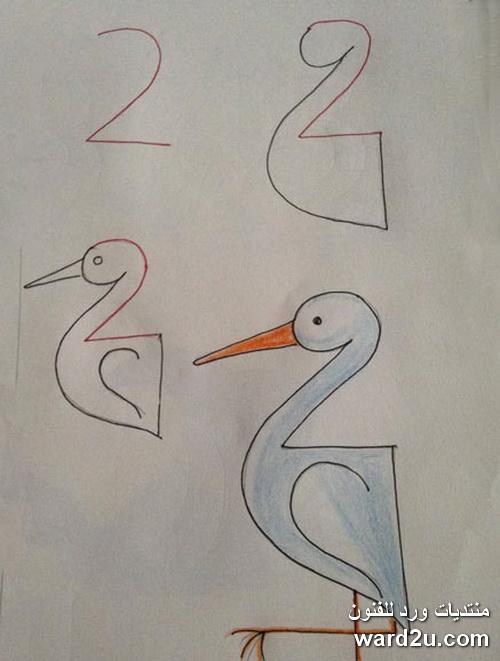 تعلم الرسم بالارقام الانجليزية