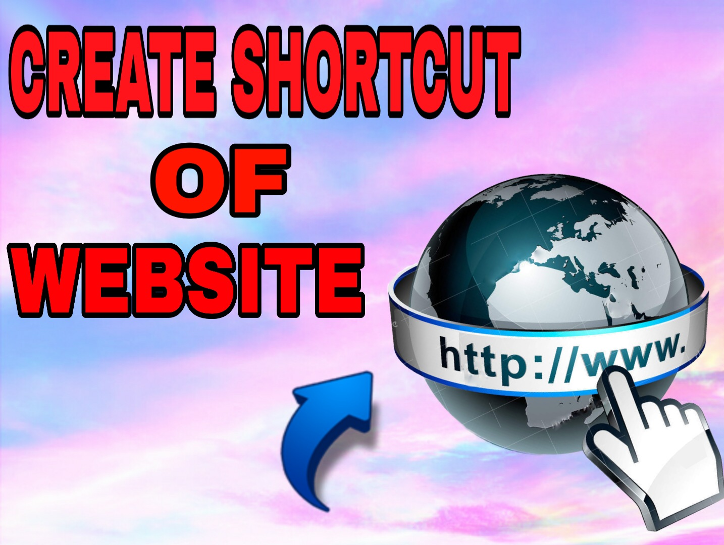 how-to-create-website-shortcut