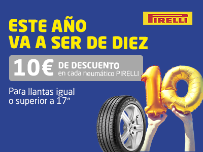 promocion neumaticos pirelli