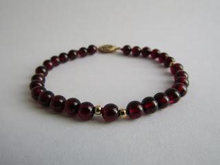 14 K Gold Beaded Bracelet
