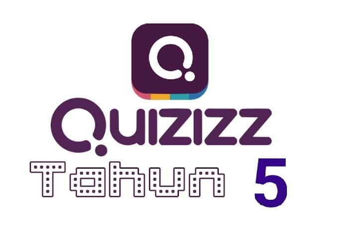 Soalan Quizizz Matematik Tahun 5