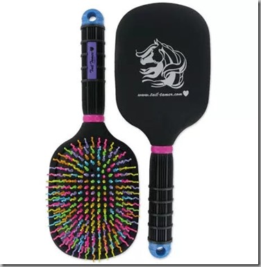 tamer paddle brush