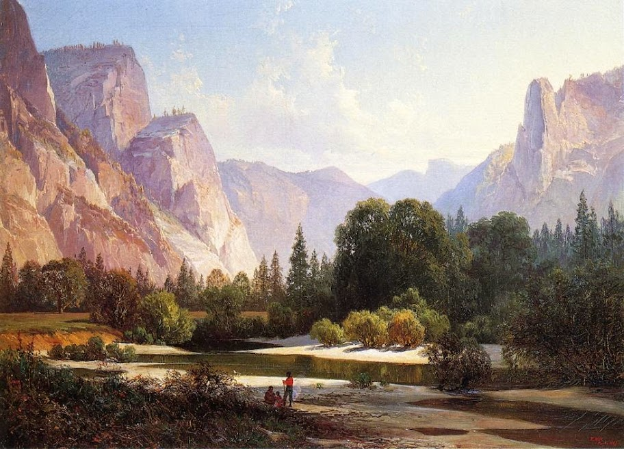 Thomas Hill - Yosemite valley