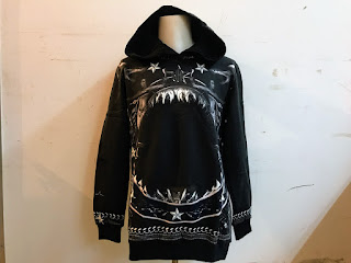 Givenchy Shark Hoodie S