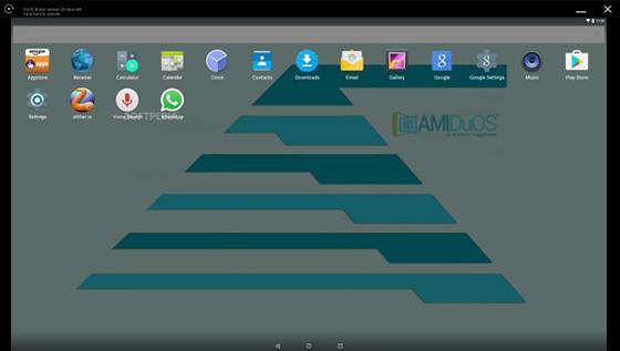 AMIDuOS - الافضل للأجهزة التي تعمل باللمس