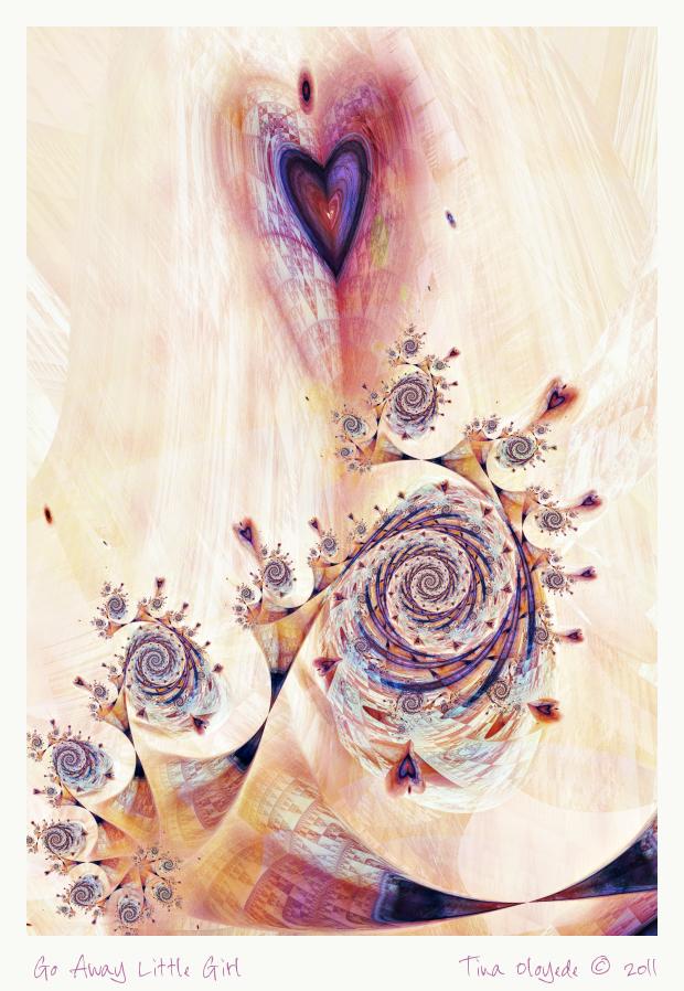Go Away Little Girl by aartika-fractal-art1