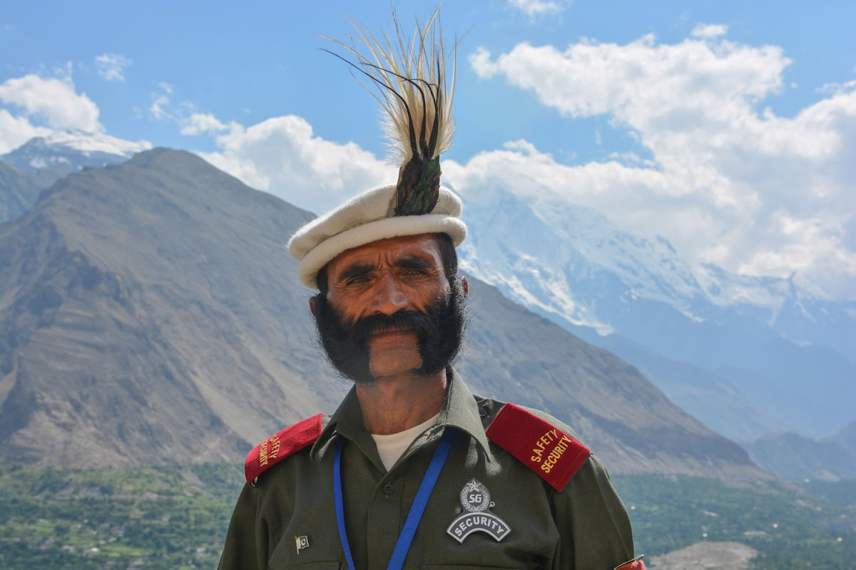 Security guard of Baltit fort, Hunza valley, Gilgit-Baltistan