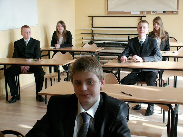 Pierwszy egzamin gimnazjalny w ZS nr 2 w Dukli 2011 - PICT1350_1.JPG