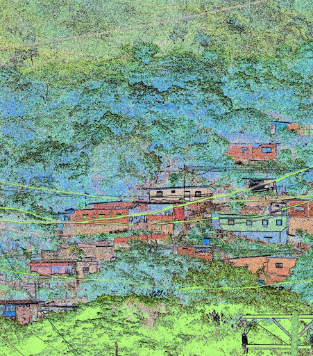 Color de barrio en la Victoria, Aragua, Venezuela