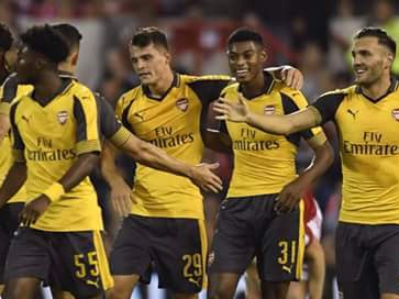 Holding And Martinez To Start – Predited 4-2-3-1 Arsenal Line-Up To Face Southampton In The EFL Cup Tie