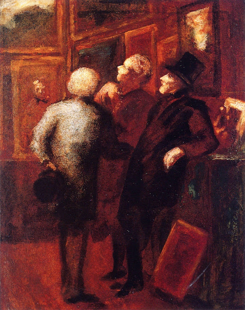 Honoré Daumier - Art Lovers